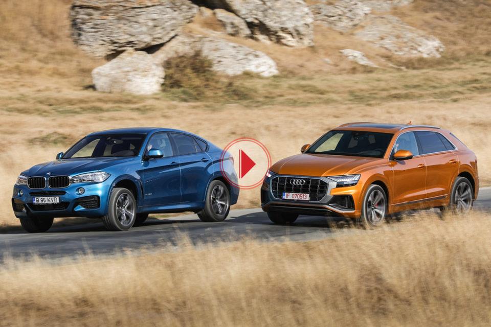 Audi Q8 vs BMW X6