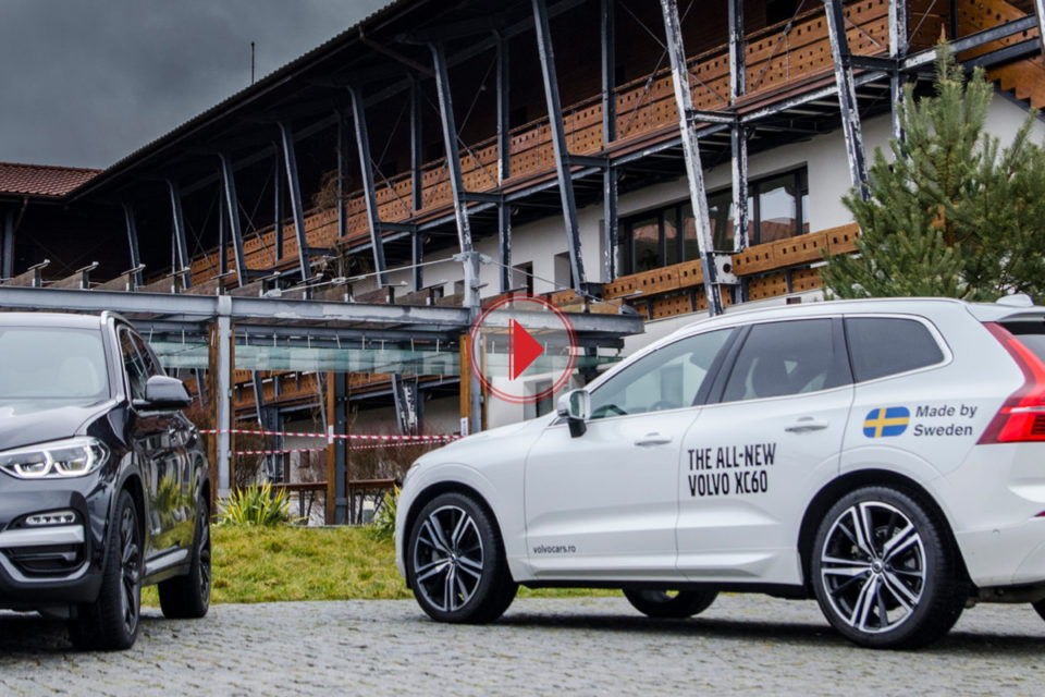Test BMW X3 vs Volvo XC60