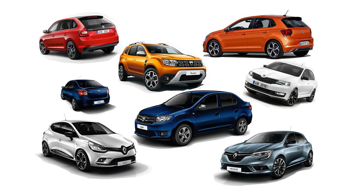 Top vânzări auto în România