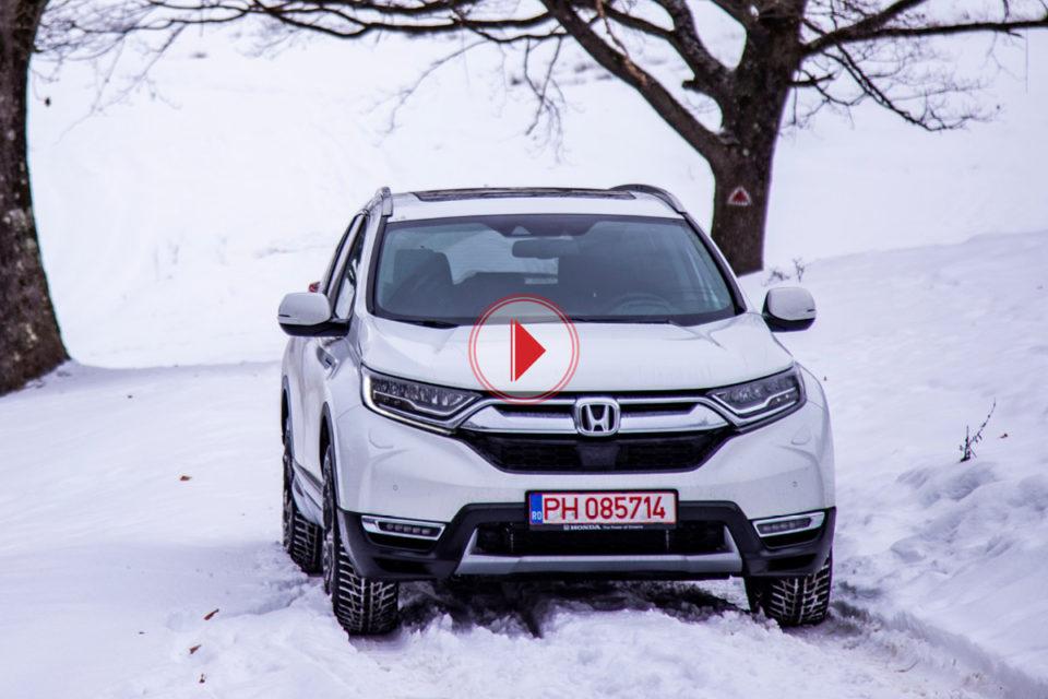 Noua Honda CR-V Hybrid