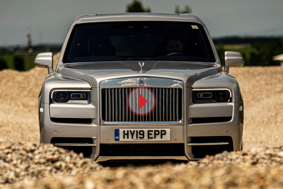 Test Rolls-Royce Cullinan