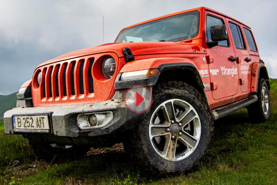 noul jeep wrangler
