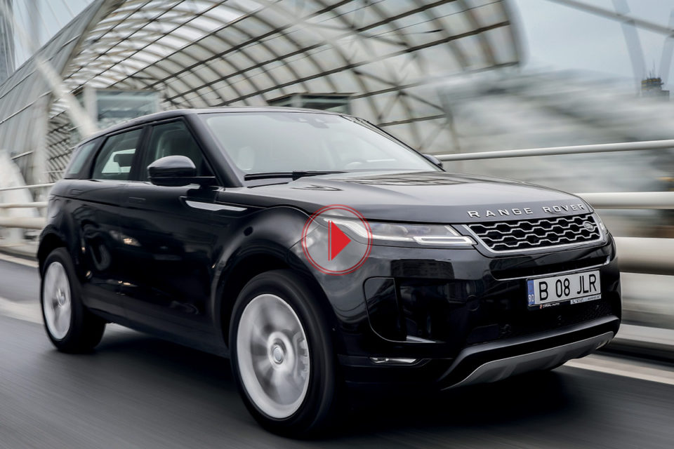 Test Range Rover Evoque