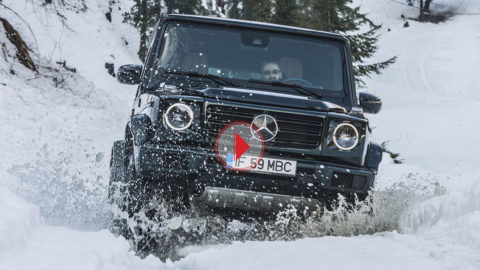 [VIDEO] Test cu noul Mercedes-Benz G 500: la fel, dar diferit