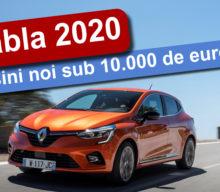[VIDEO] Rabla 2020: mașini noi sub 10.000 de euro