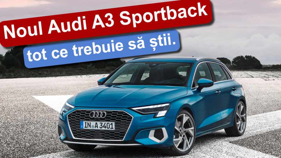 Noul Audi A3 Sportback