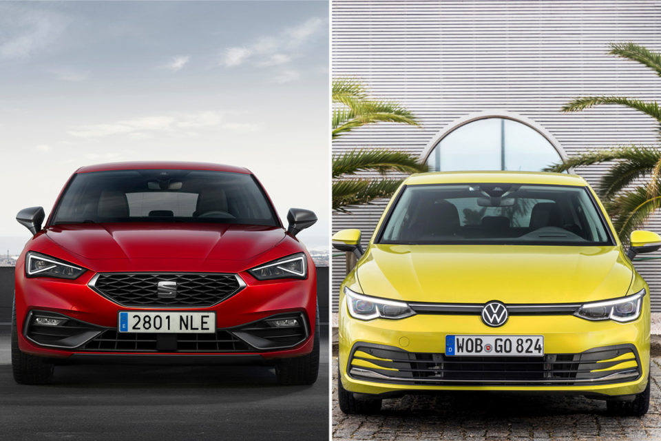 Noul Seat Leon vs VW Golf 8