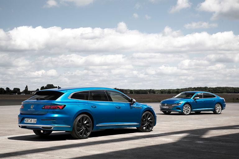 noul Volkswagen Arteon Shooting Brake