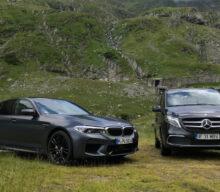 [VIDEO] BMW M5 și Clasa V: roadtrip pe Transfăgărășan