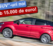 "[VIDEO] Top ""SUV""-uri noi sub 15.000 de euro"