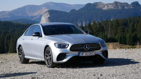 (VIDEO) Test Drive Mercedes-Benz E220d – Leru-i ler și Mercedesu' e Mercedes.