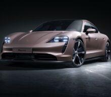 Versiunea cu tracțiune spate a lui Porsche Taycan debutează cu până la 476 CP