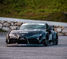 (VIDEO)Toyota Supra transformată de Liberty Walk