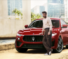 David Beckham a devenit ambasadorul Maserati la nivel mondial