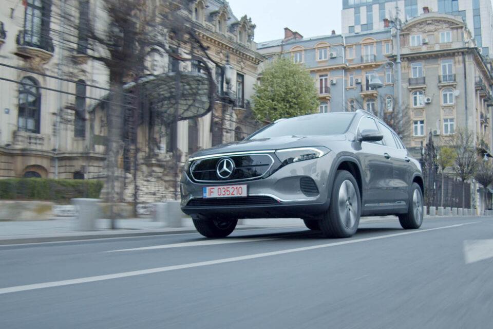 Noul Mercedes-Benz EQA
